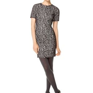 Wilfred black & white lace dress S